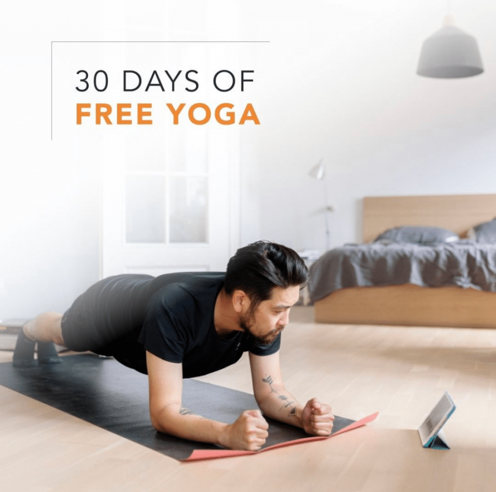 yoga international free trial 30 days