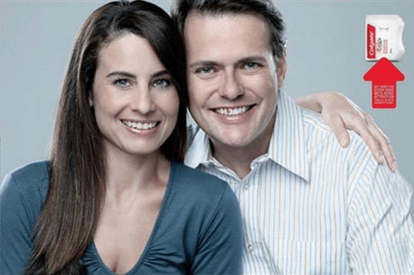 Colgate ad smile test 2