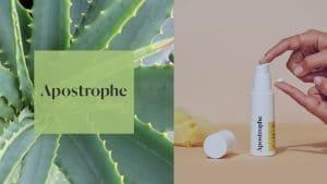 Apostrophe skincare review hero image