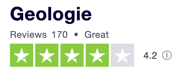 geologie trustpilot reviews