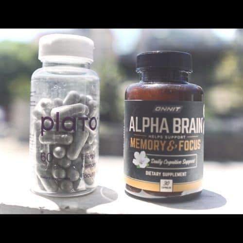 alpha brain and plato side by side