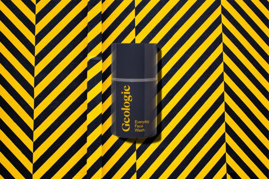geologie face wash product shot