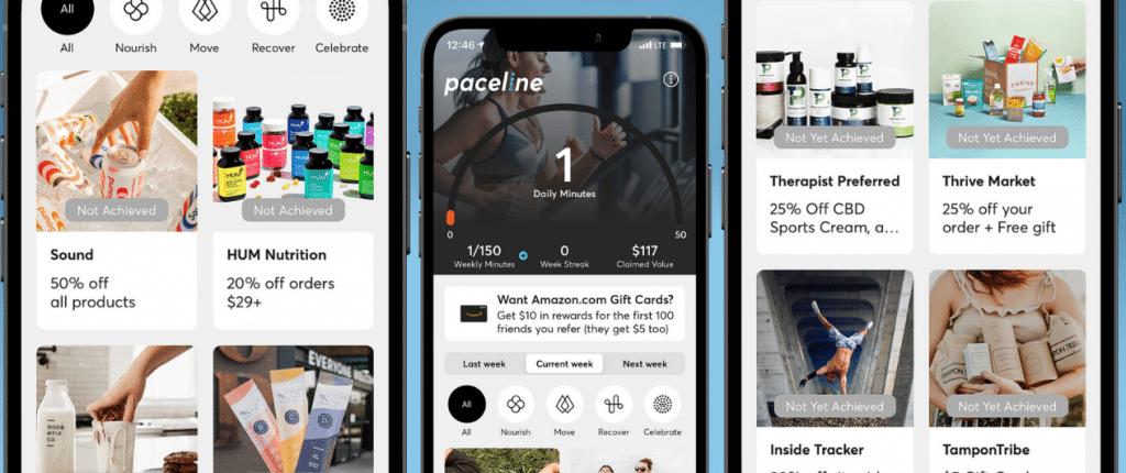 Paceline app screenshots